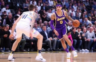 Los Angeles Lakers, Denver Nuggets deplasmanında...